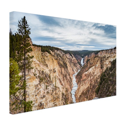 Yellowstone Verenigde Staten Canvas