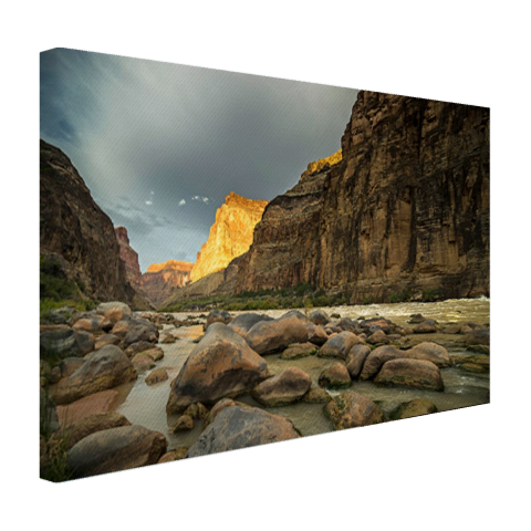 Colorado River Grand Canyon Canvas