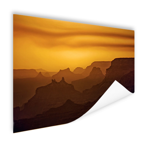 Zonsondergang over Grand Canyon Poster