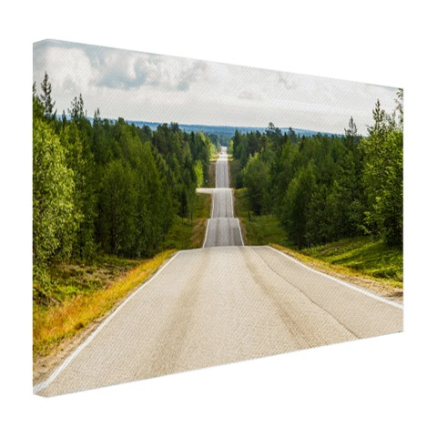 Seesaw weg in Finland Canvas