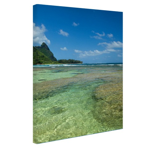 Kauai Oceanie fotoprint Canvas