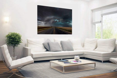 Tornado wolk over Texas Poster