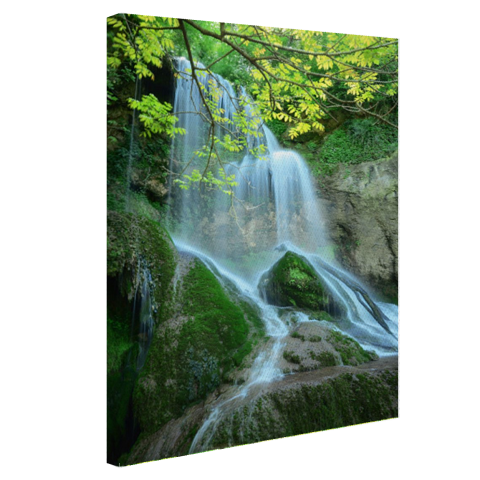 Krushuna waterval Oost-Europa Canvas