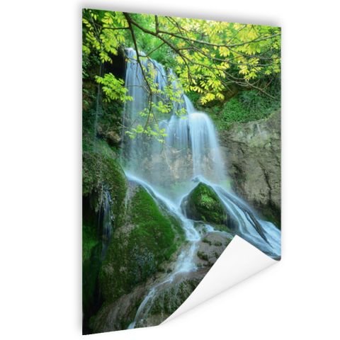 Krushuna waterval Oost-Europa Poster