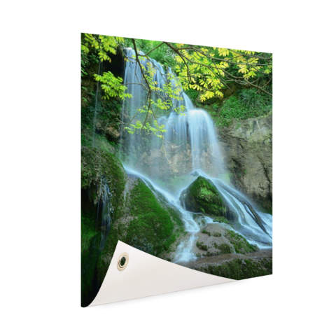 Krushuna waterval Oost-Europa Tuinposter