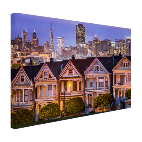 Huizen San Francisco Canvas