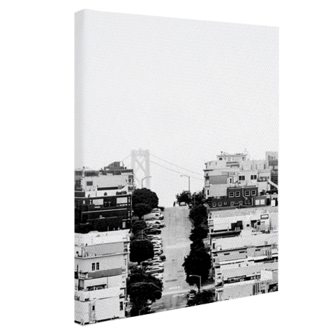 San Francisco zwart-wit Canvas
