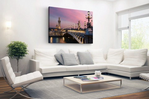 Pont Alexandre Parijs Canvas