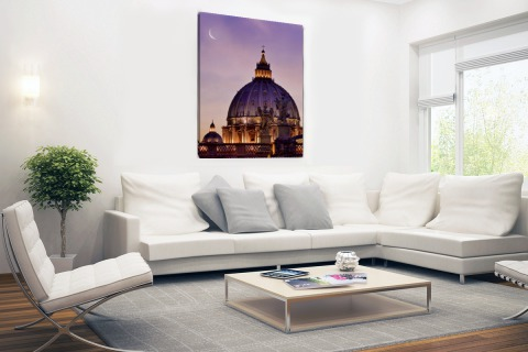 Angelos standbeelden Rome Canvas