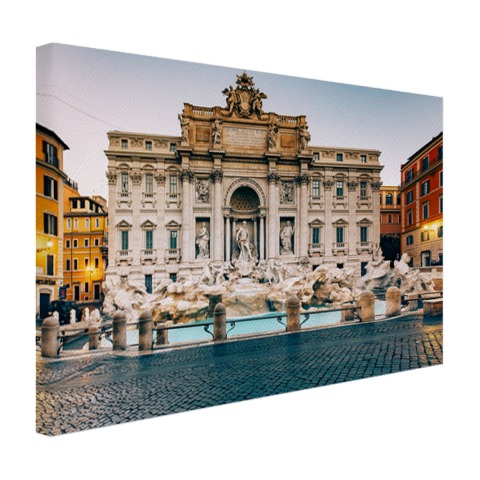 Trevifontein Rome op canvas