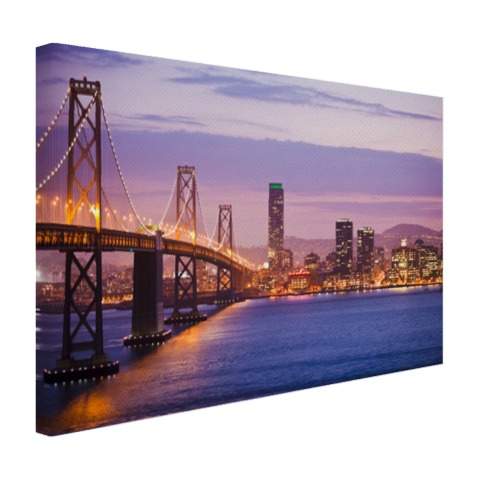Avondlicht San Francisco Canvas