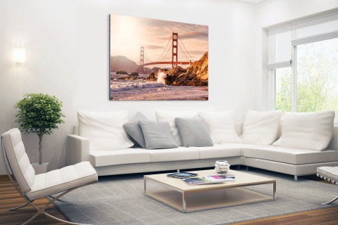 Golden Gate Bridge Aluminium