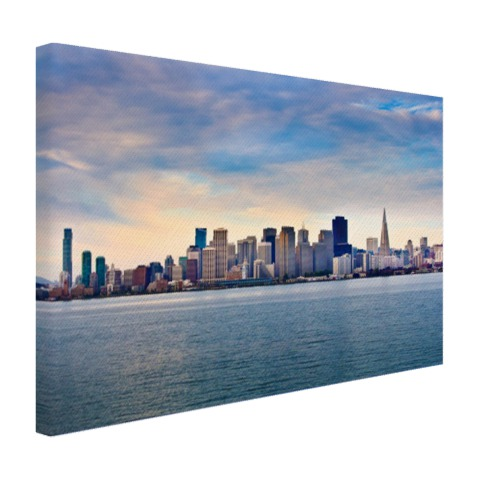 San Francisco skyline op canvas
