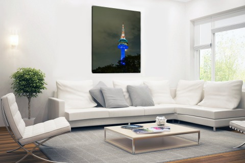 Seoul tower Canvas