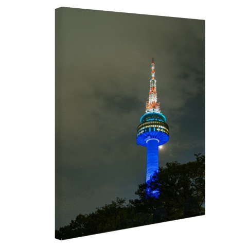 Seoul Tower muurdecoratie