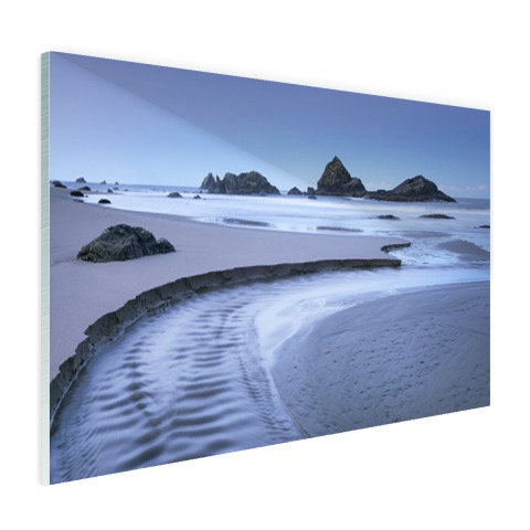 Harris strand Oregon foto Glas