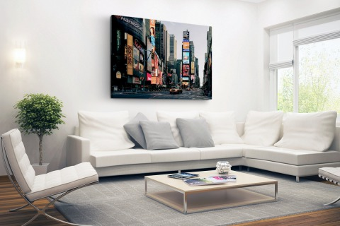 Reclameborden Times Square Canvas