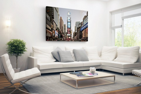 Zonsopgang Times Square Canvas