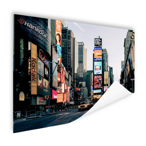 Reclameborden Times Square Poster