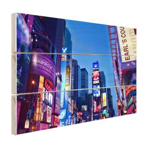 Times Square by night Hout