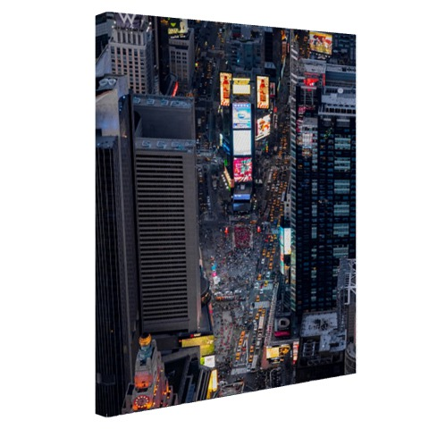 Times Square fotoprint Canvas