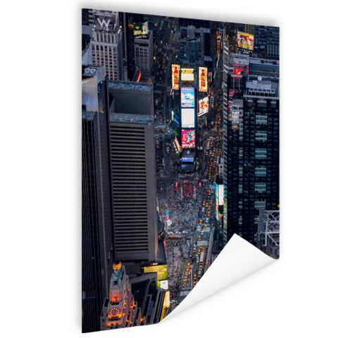 Times Square fotoprint Poster