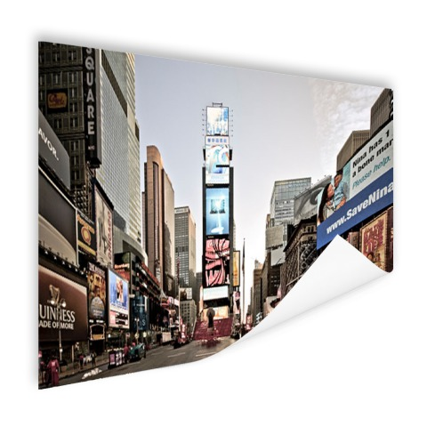 Zonsopgang Times Square Poster