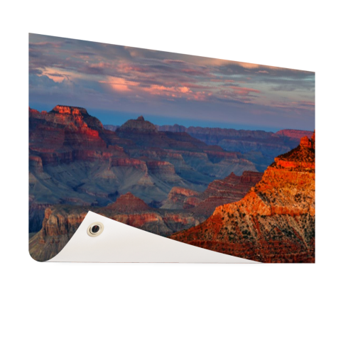 Mather Point zonsondergang Grand Canyon Tuinposter