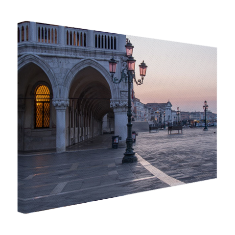 Piazza San Marco op canvas