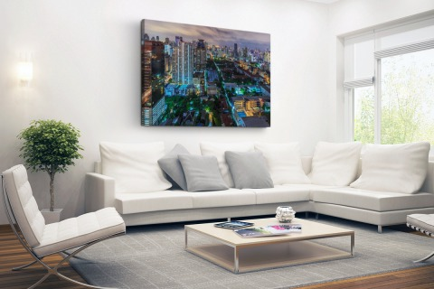 Washington DC Skyline Canvas