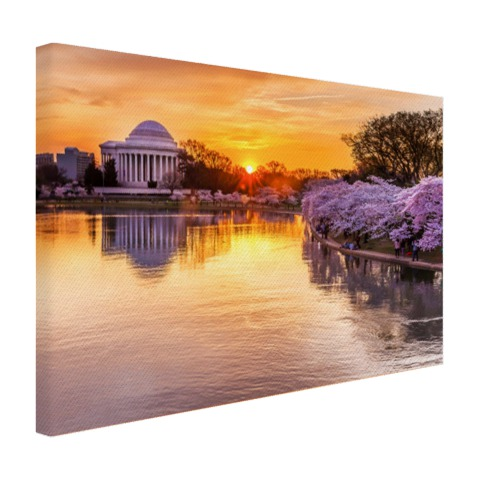Jefferson Memorial canvas