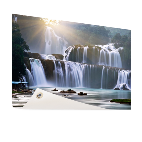 Ban Gioc waterval Tuinposter