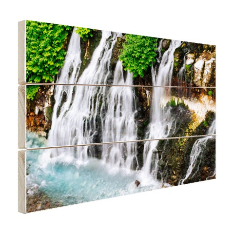 Brede waterval Hout