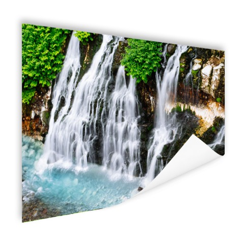 Brede waterval Poster