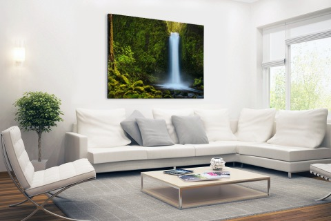 Jungle waterval Aluminium