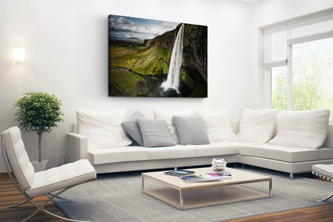 Seljalandsfoss waterval Canvas