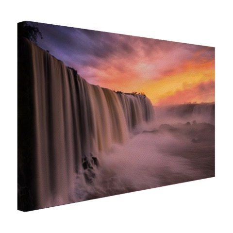 Iguazu waterval Canvas