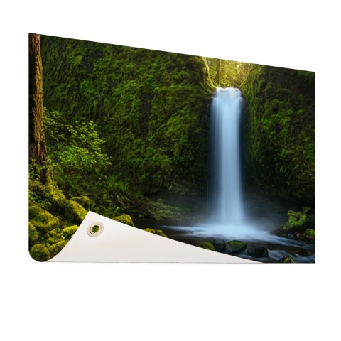 Jungle waterval Tuinposter