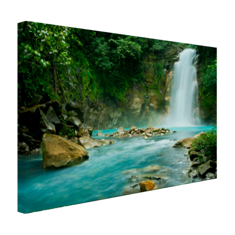 Rio Celeste waterval Canvas
