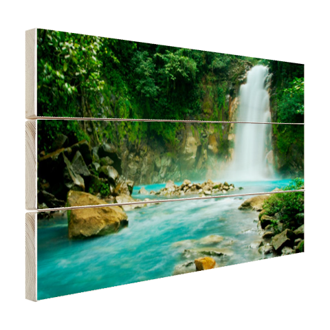 Rio Celeste waterval Hout