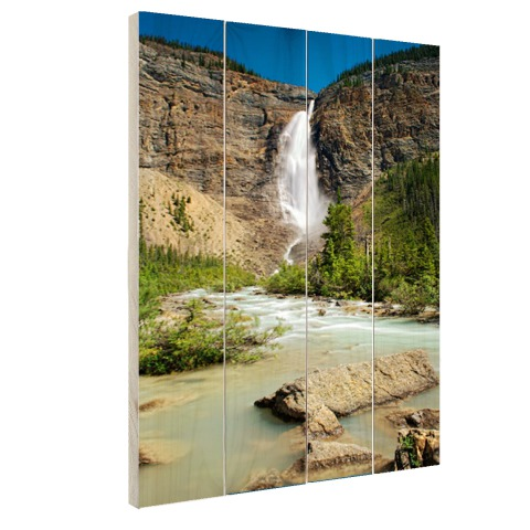 Takakkaw waterval Canada Hout