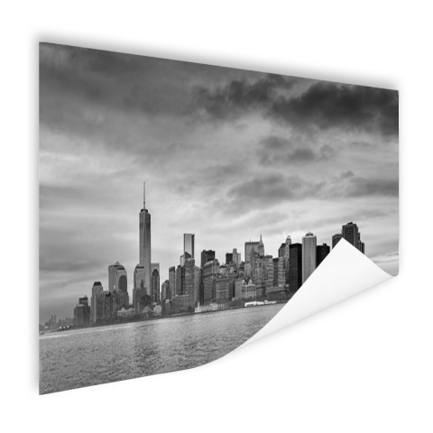 Manhattan New York in zwart-wit Poster