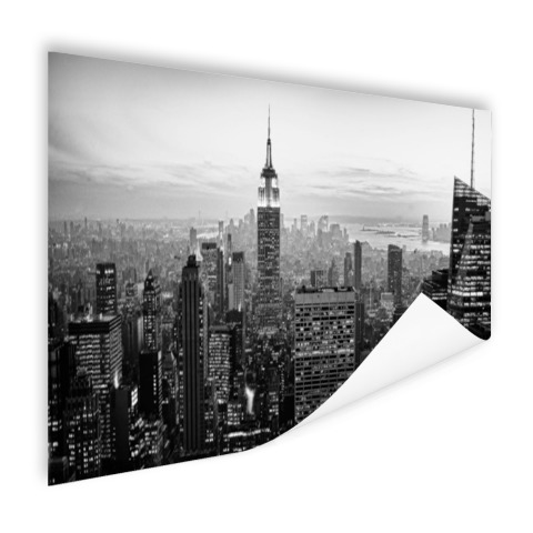 New York City zwart-wit fotoprint Poster